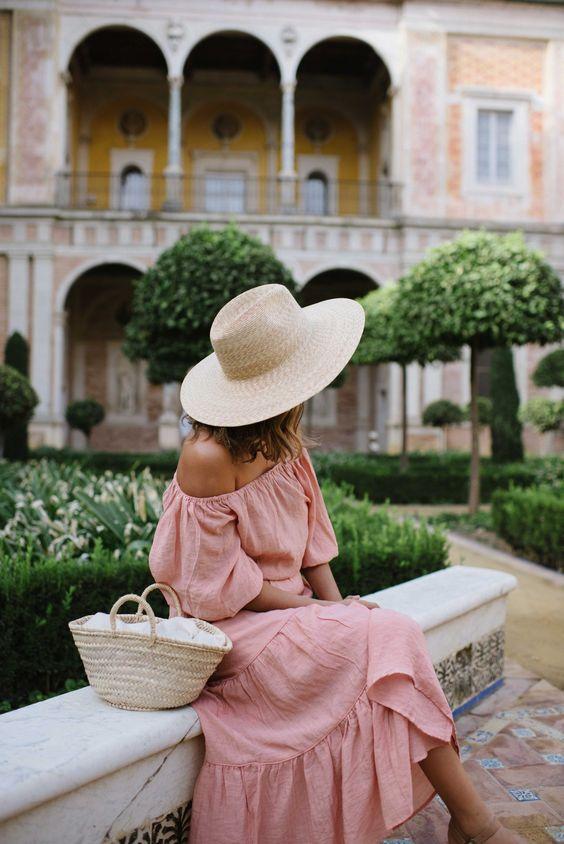 chapeau robe été